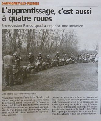 Article quad enfant 2